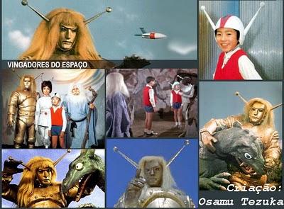 Falando em Série: OS VINGADORES DO ESPAÇO (Maguma Taishi/1966-67)