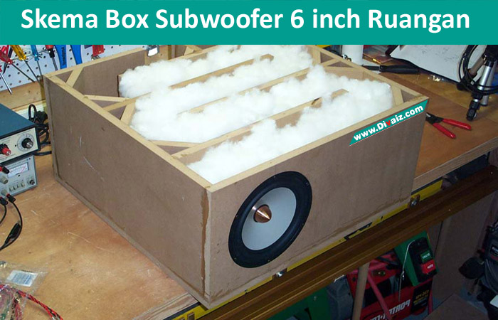 Skema Box Subwoofer 6 in Rumahan