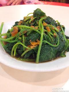 燙青菜、地瓜葉