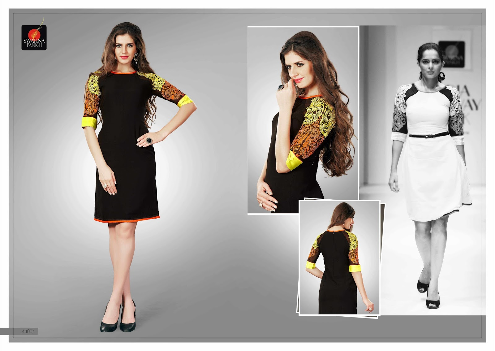 Nupur 44 – Georgette With Embroidery Work Stylish Kurti