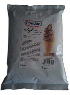 bubuk es krim pondan soft ice cream