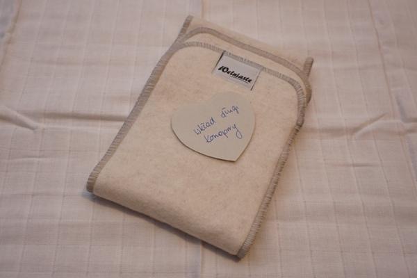 wkłady do pieluszek wielorazowych - wkład konopny