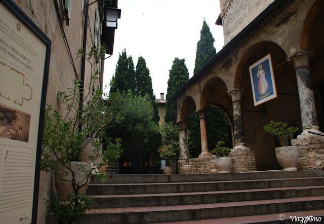 Particolare della Chiesa di Santa Maria Maggiore