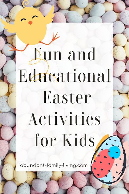 Easter Activities for Kids - Roundup 2021