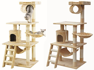 Cat Trees Multi-level Play Tower Tree for Pet Cats