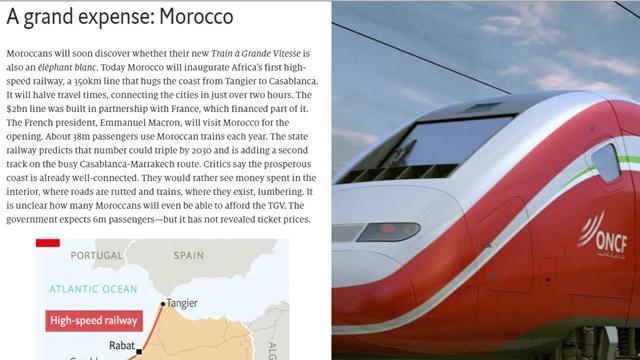 Kereta Cepat Maroko 350 Km Biaya US$ 2 Miliar, Kereta Cepat Jakarta-Bandung 144 Km Biaya US$ 6 Miliar