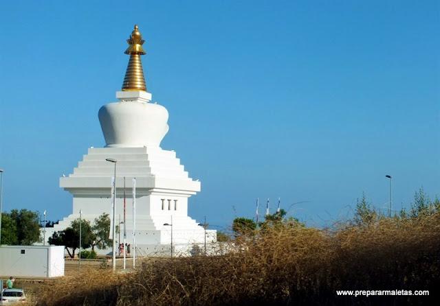 templo budista en Costa del Sol Benalmadena