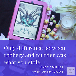 Mask of Shadows by Linsey Miller a book review on Reading List