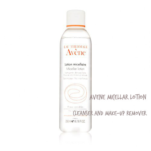 Review:  Micellar Lotion (Cleanser and make-up remover) AVENE