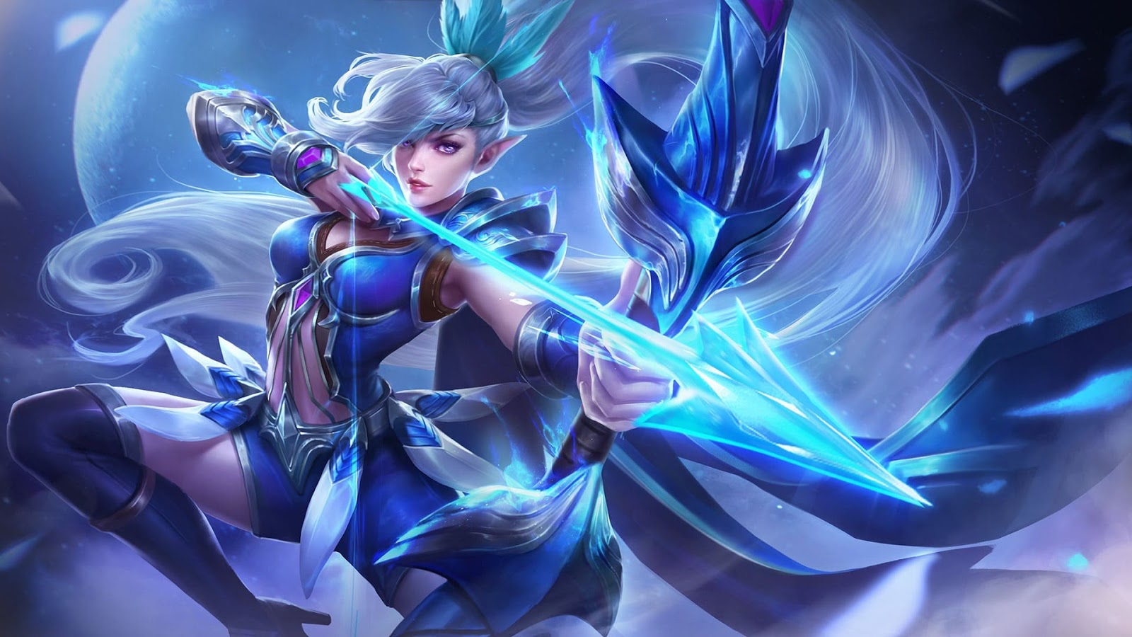Wallpaper Miya Moonlight Archer Skin Mobile Legends HD for PC