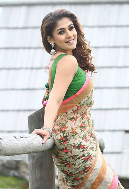 Nayanthara in saree images