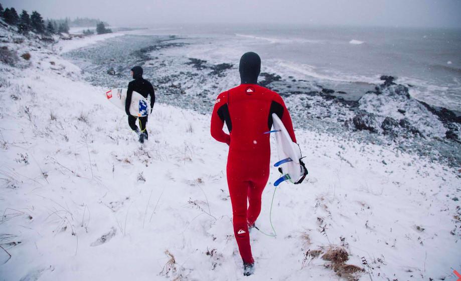 Jeremy Koreski, fotografía de surf en el Canadá salvaje