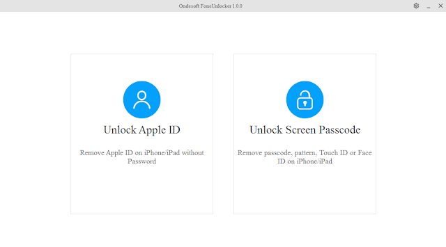 Ondesoft FoneUnlocker V1.0 Full Version Free Tools For Iphone