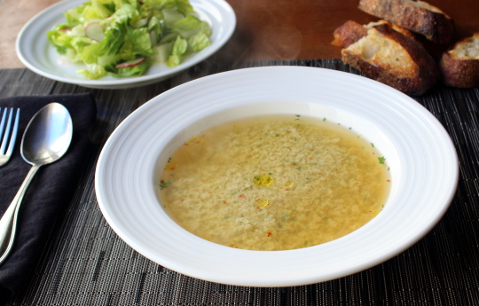 Stracciatella Soup U2013 For When Youu0027re U0027Tore Up From The Floor Upu0027