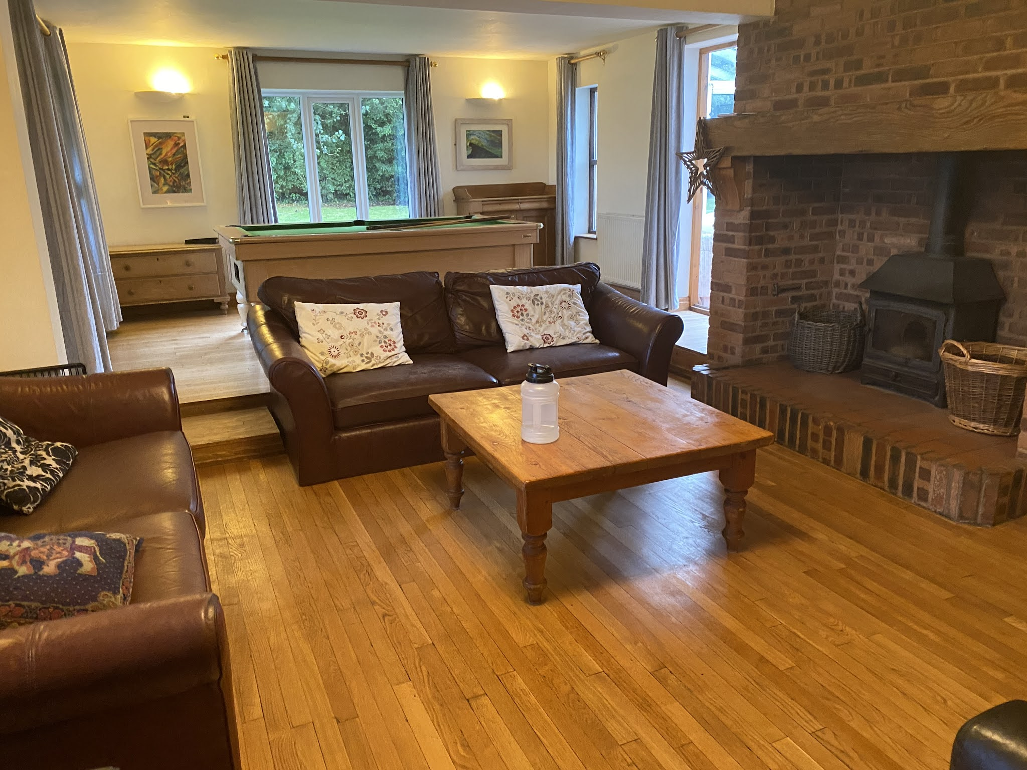 Snowdonia View Farmhouse - Living Room