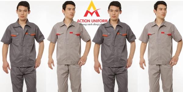 Mẫu đồng phục bảo hộ lao động 1