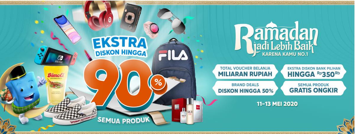 Yuk Intip 5 Keuntungan Belanja Hemat Pakai Promo Ramadhan Blibli