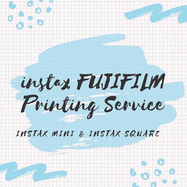 Instax FUJIFILM Printing Service - instax Mini & instax Square