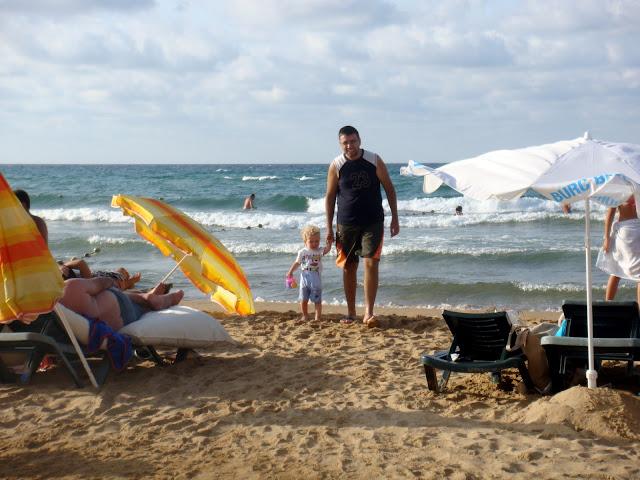 plajda oynarken, Kilyos Burc Beach