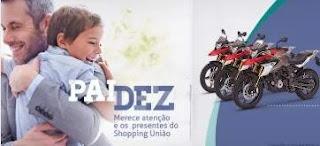 Promoção Shopping União Dia dos Pais 2019 - 3 Motos BMW