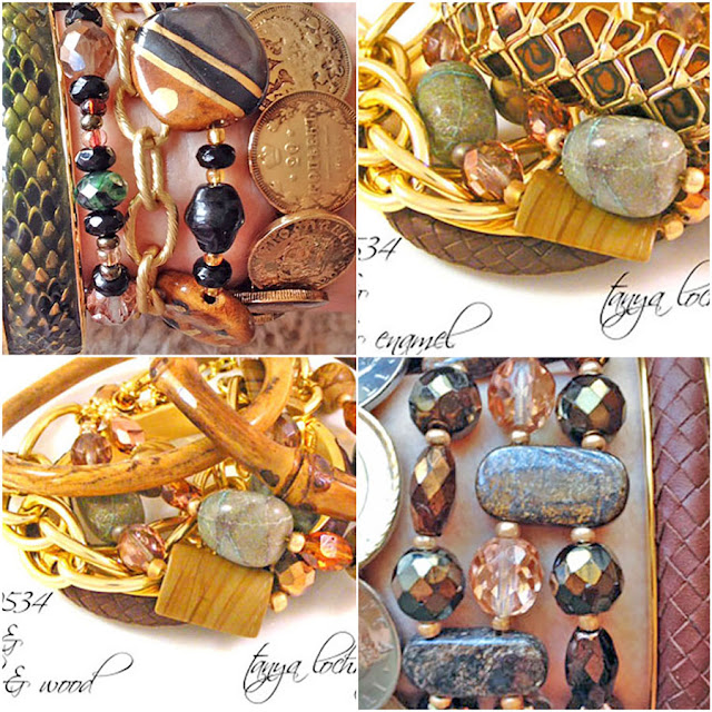 Chrysocolla, hickoryite, bronzite, jasper, crystal, quartz, gemstone bracelets and Joan Rivers