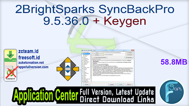 2BrightSparks SyncBackPro 9.5.36.0 + Keygen_ ZcTeam.id