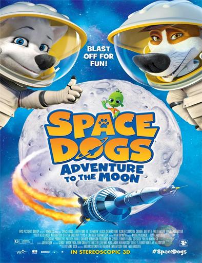 Ver Space Dogs: Aventura en el espacio (2016) Online