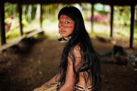 Mujer de la Amazonia Peruana