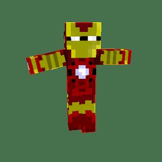 Ironman Minecraft Skin
