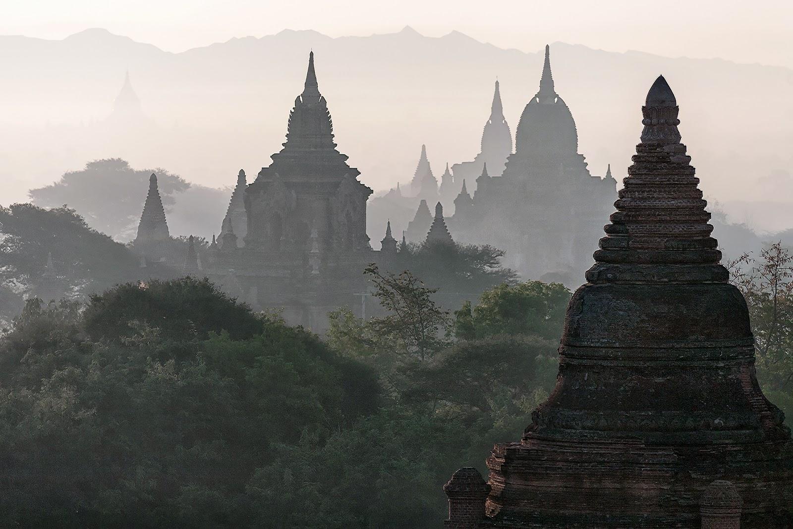 pagody,bagan,birma