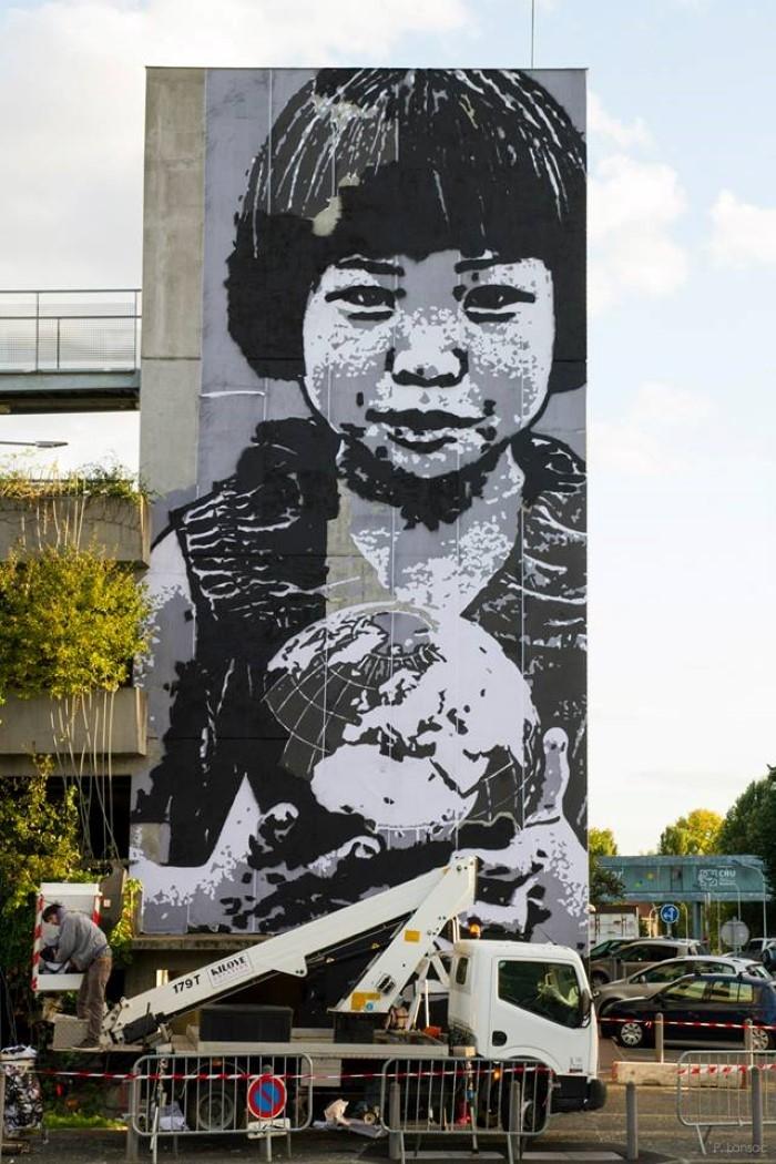 Французский граффити-художник