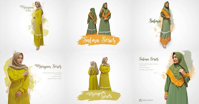 Rekomendasi Gamis Muslimah Terbaru 2020 [Adellia Fashion]