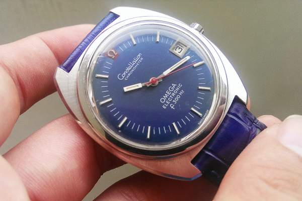 Harga jam tangan antik merk Omega