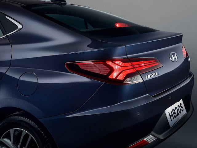 Novo Hyundai HB20S 2020: foto oficial divulgada