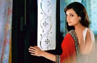 Dia Mirza is in an advertisement of perfume