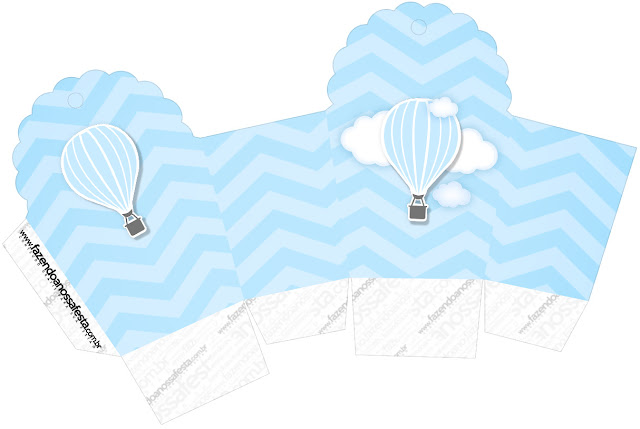 Volando en Celeste: Cajas para Descargar Gratis.