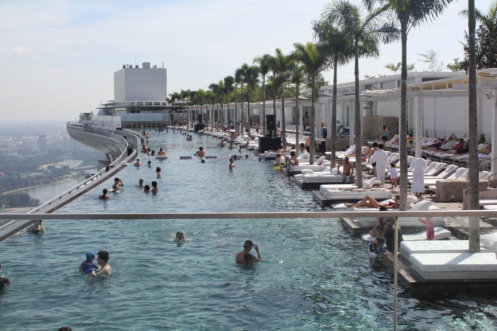 Hotel Singapore Piscina Ultimo Piano