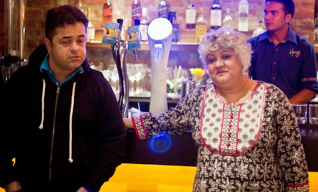 Chef Vicky Ratnani and Mixologist Shatbhi Basu
