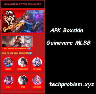 APK Guinevere Skin Injector Mobile Legends