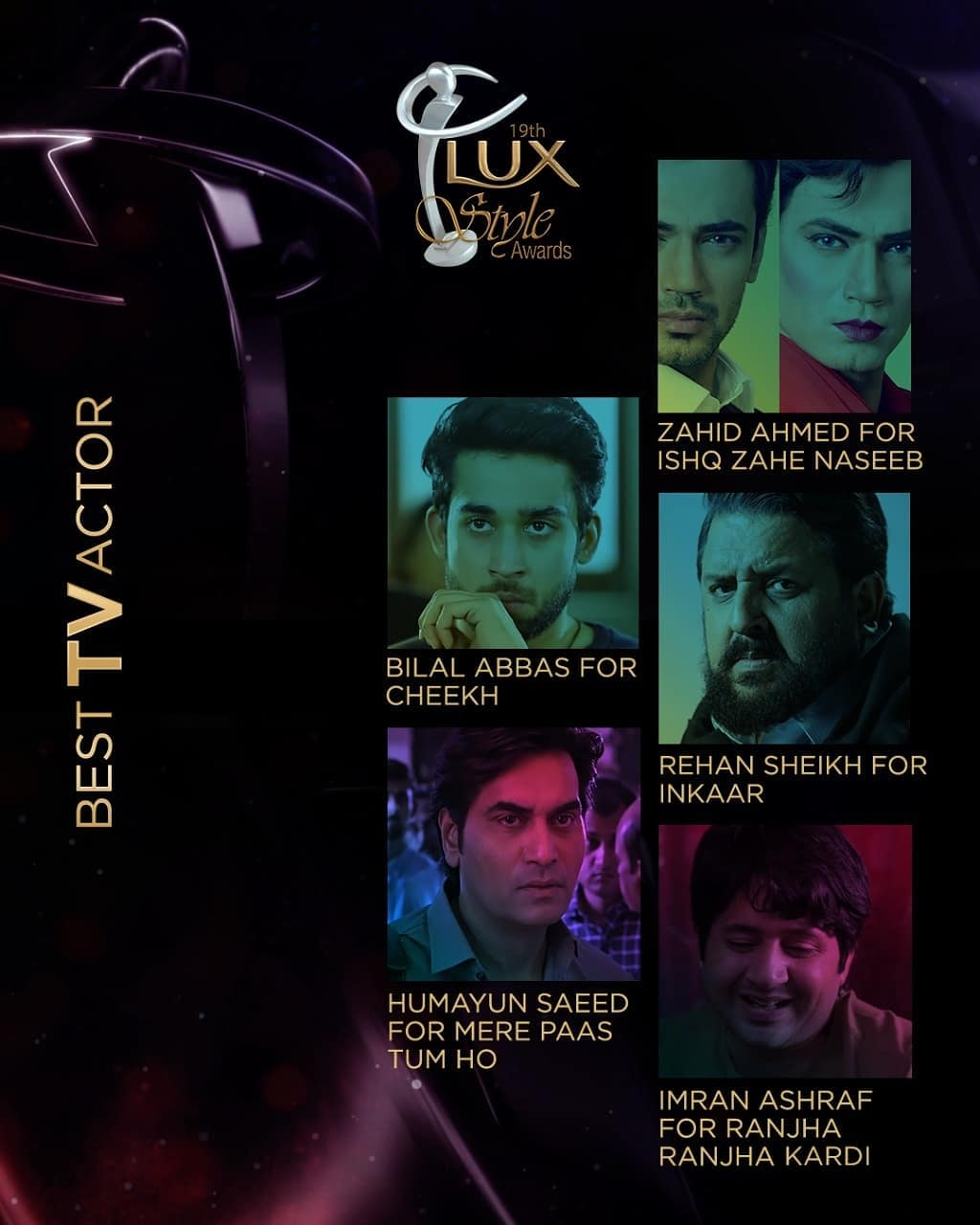 Lux Style Awards 2020 Nomination are Out