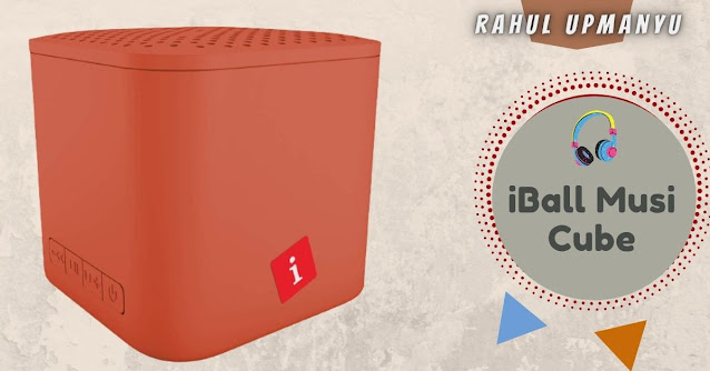 iBall Musi Cube X1 Wireless Ultra-Portable Bluetooth Speakers
