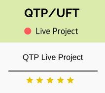 QTP Live Project Training