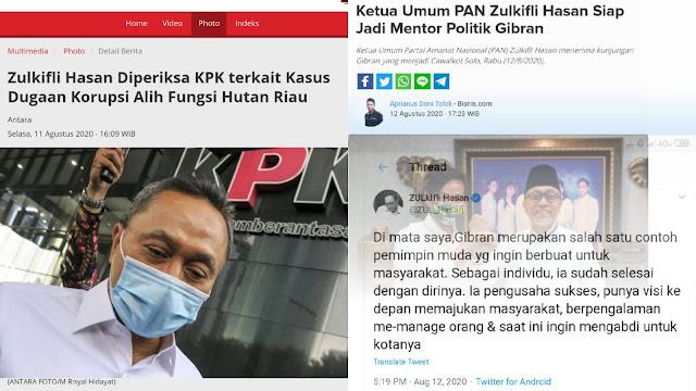 Sehari Setelah Diperiksa KPK, Ketum PAN Puji dan Dukung Putra Jokowi Maju Pilkada