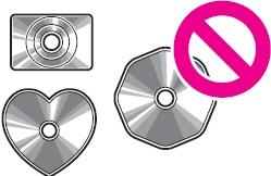 CD yang mempunyai diameter yang tidak 8 cm atau 12 cm