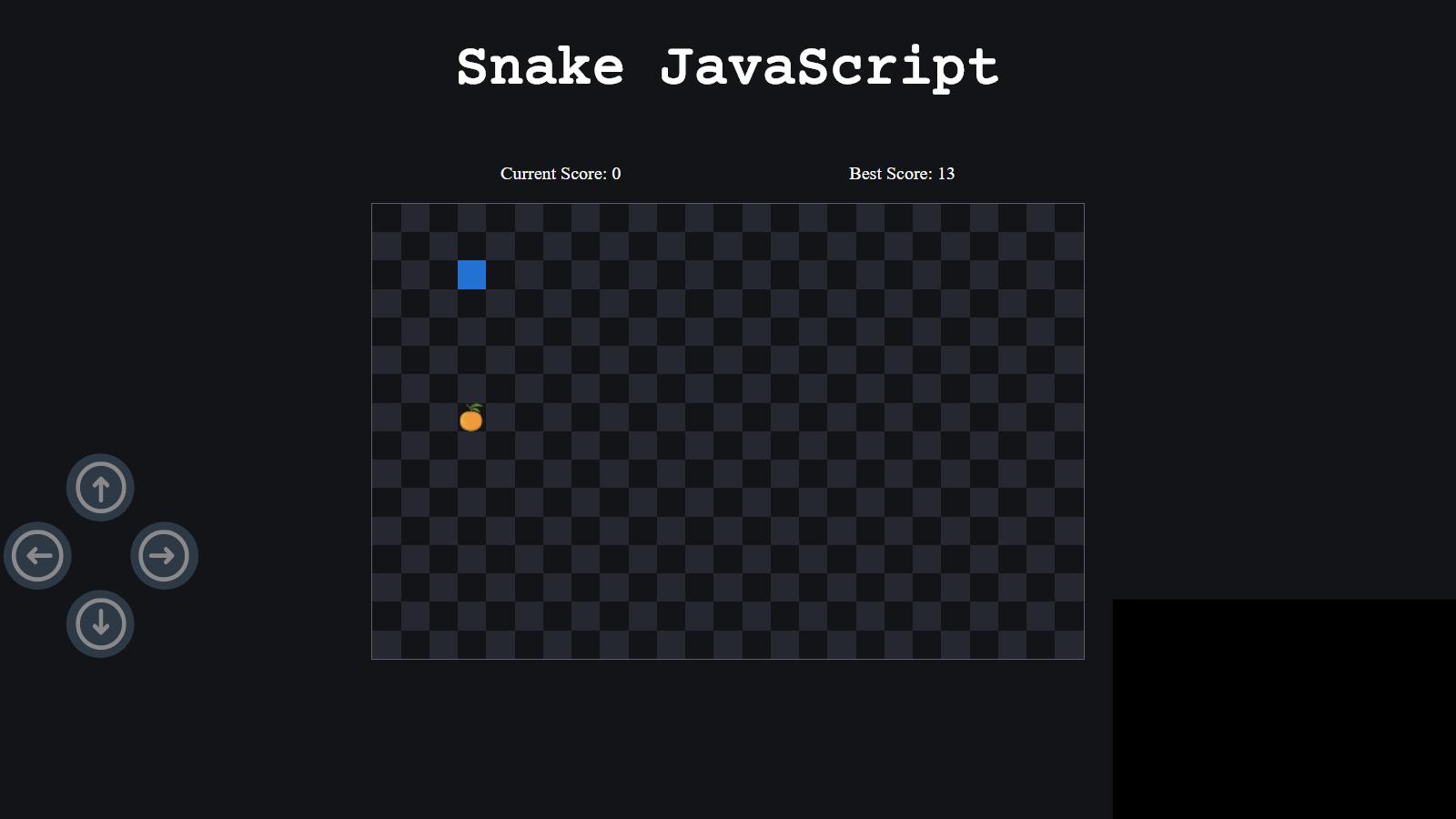 Make Snake Game Using HTML, CSS, and JavaScript