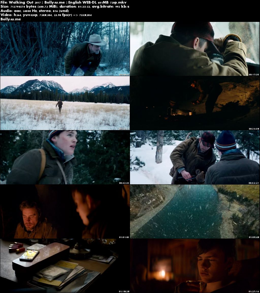 Walking Out 2017 WEB-DL 650MB Full English Movie Download 720p