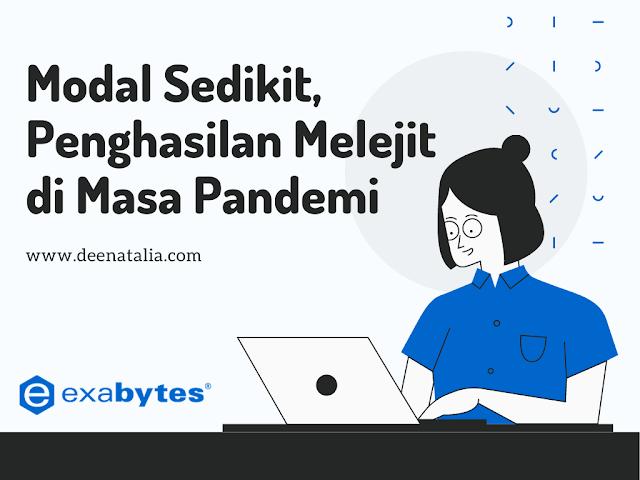 Modal Sedikit, Penghasilan Melejit Bersama Exabytes Indonesia