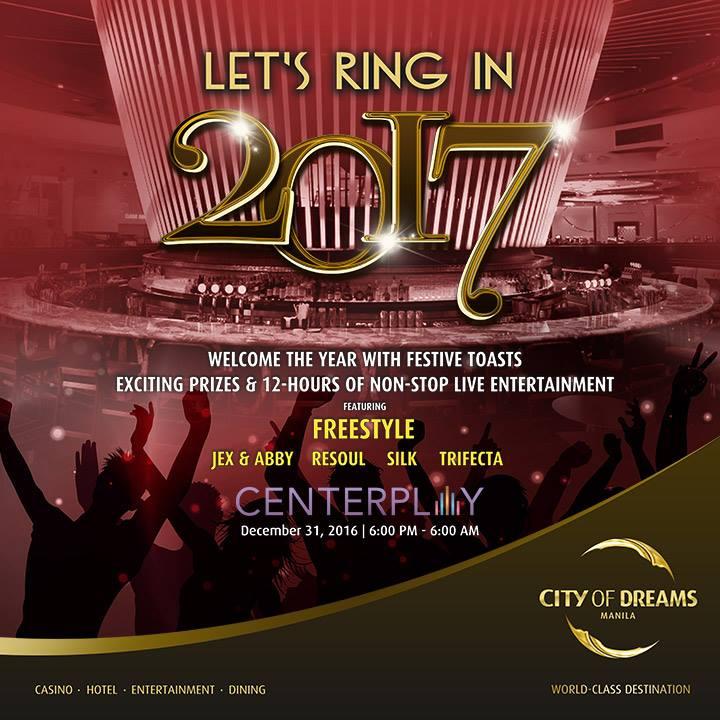 City of Dreams: Let's Ring in 2017