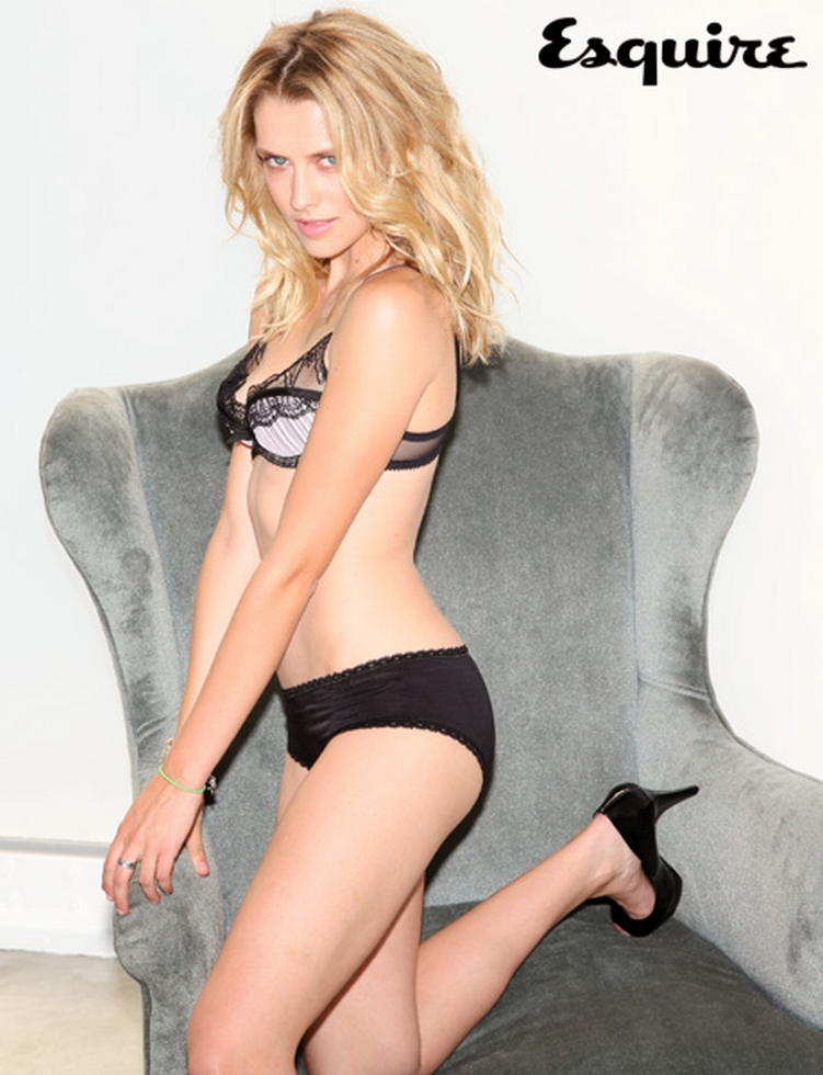 Teresa Palmer Sexy Lingerie On Esquire Magazine March 2011 -3040