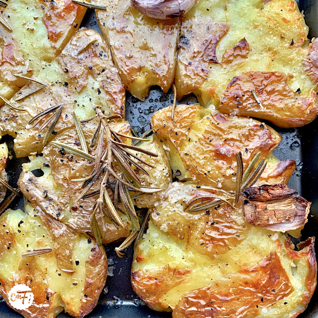 Pommes de terre tapées